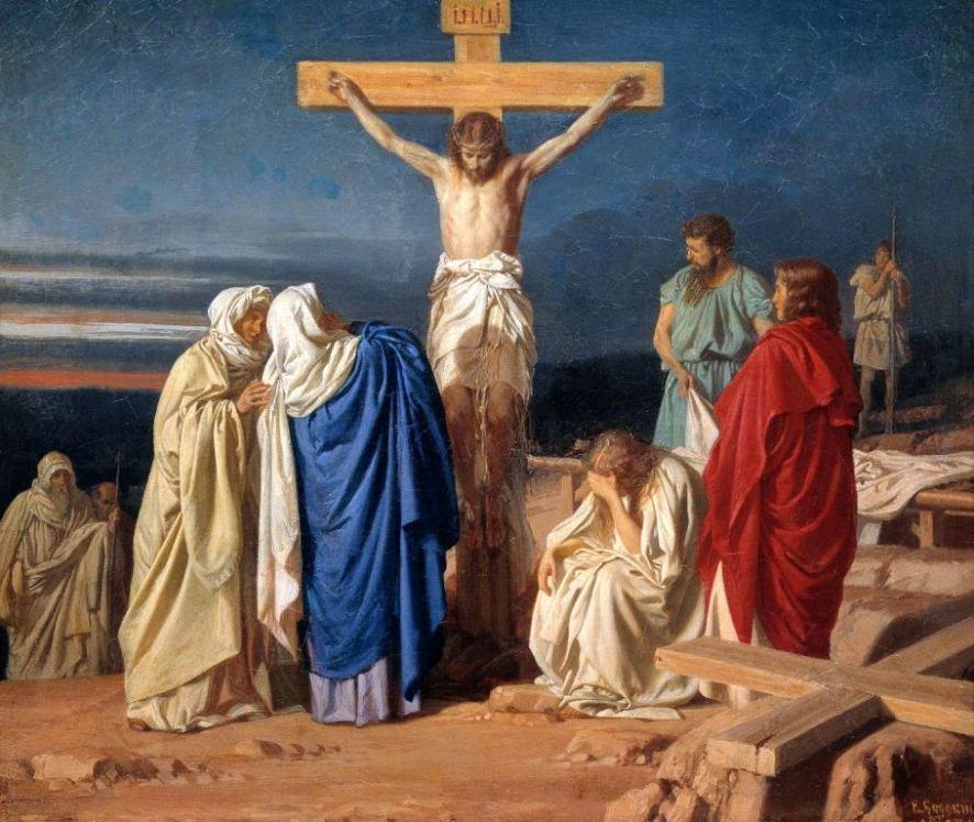 Иконы и другие изображения на тему религии.  Crucifixion1